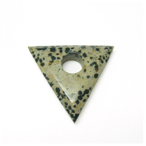 Jaspe dalmatien, triangle