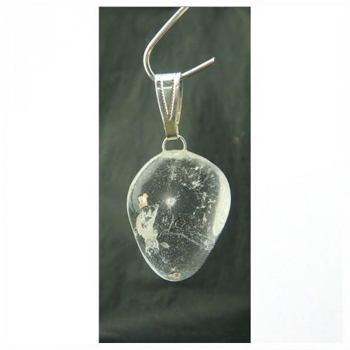 Pendentif cristal de roche
