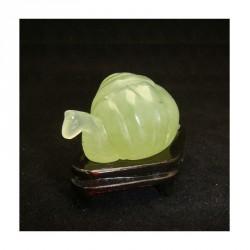 Escargot en jade