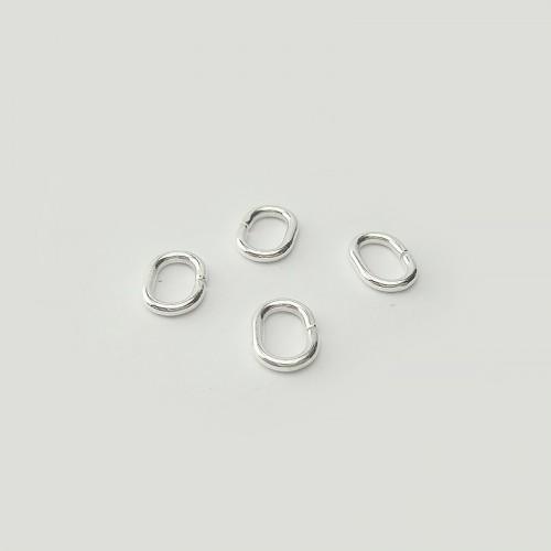 Anneaux ovales ouverts, 4 pièces