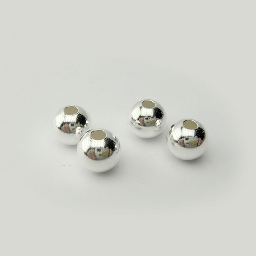 Boules lisses 8 mm, 4 pièces