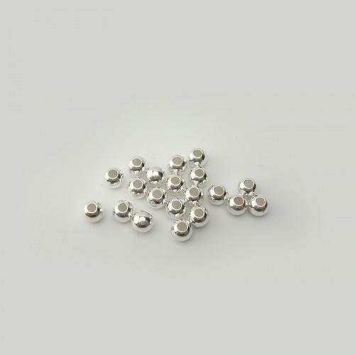 Boules lisses 4 mm, 20 pièces