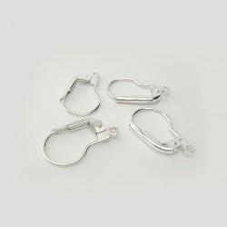 Crochets de boucles d'oreilles, 2 paires