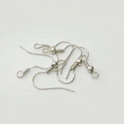Argent 925 - Crochets de boucles d'oreilles, 3 paires