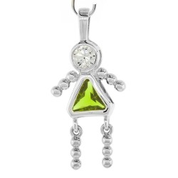 "Pendentif ""little girl"" - AOUT"
