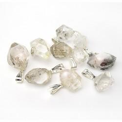 Pendentif diamant de Herkimer