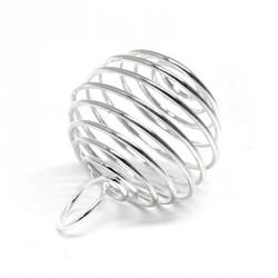 Cage spirale métal