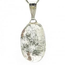 Pendentif quartz lodolite