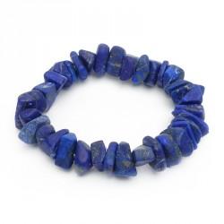 "Bracelet lapis lazuli ""gros chips"""