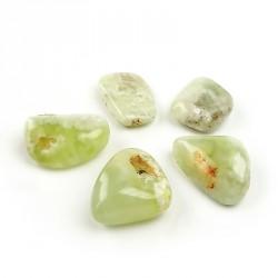 Opale verte, touchstone à la pièce