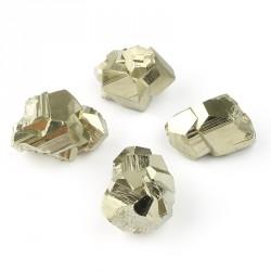 Amas de cristaux naturels DE PYRITE