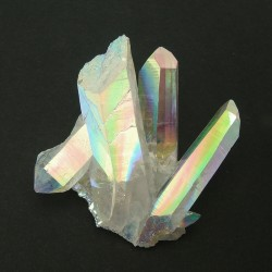Aqua aura, cristaux
