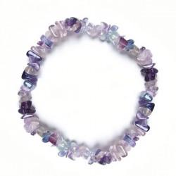 Bracelet baroque fluorite