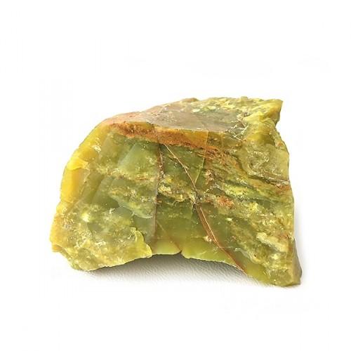 Chrysoprase, morceau brut