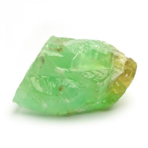 Calcite verte, morceau brut