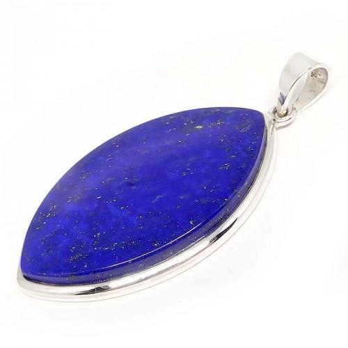 Lapis lazuli et argent 925, Pendentif