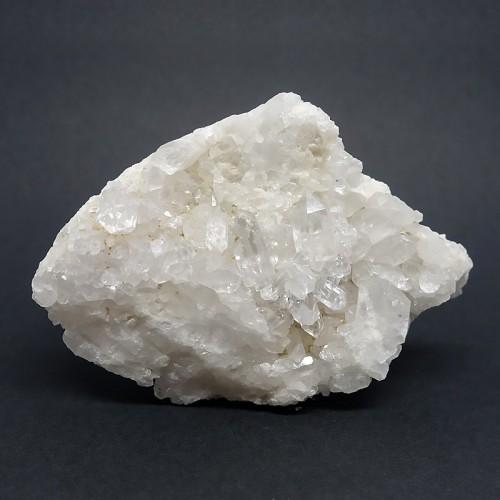 Druze de quartz, morceau brut