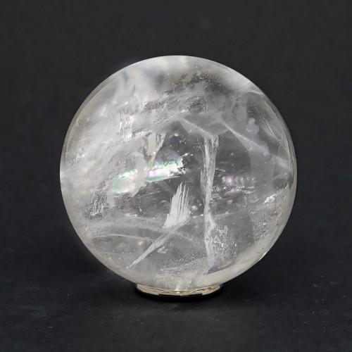Sphère en crital de roche, 50 mm