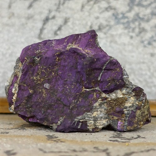 Purpurite, morceau brut