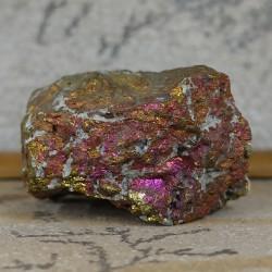 Chalcopyrite, morceau brut