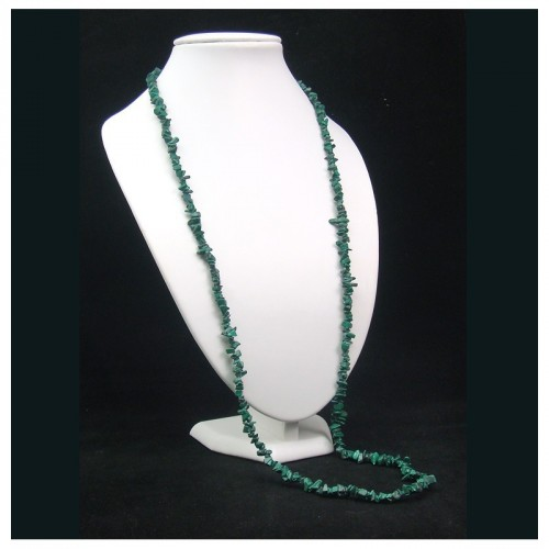 Collier baroque malachite 90 cm