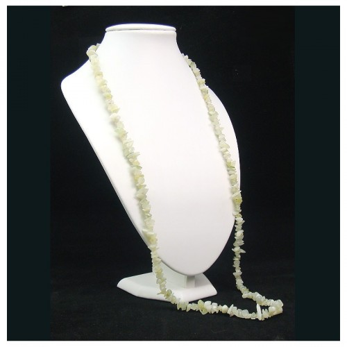 "Collier baroque jade ""new jade"" 90 cm"