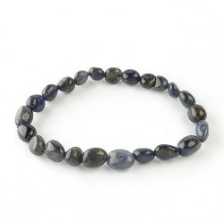 Iolite, Bracelet extensible grains