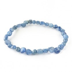 Cyanite, Bracelet extensible grains