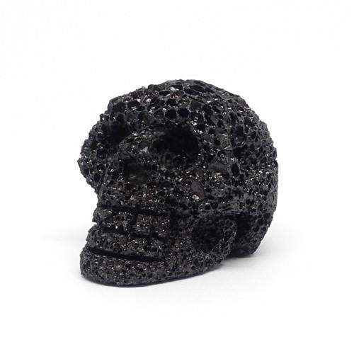 Crâne, Pierre de lave