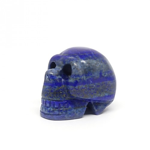 Crâne (petit modèle), Lapis lazuli