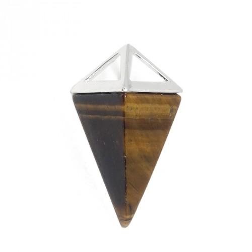 Pendentif pendule en pierre - Choisissez votre pierre
