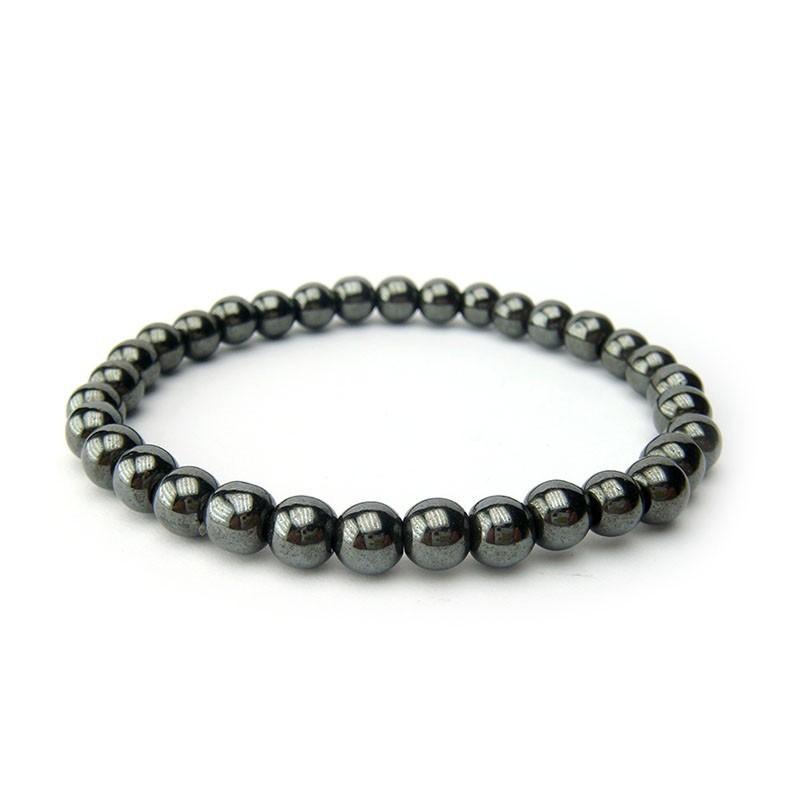 Bracelet hématite 6 mm