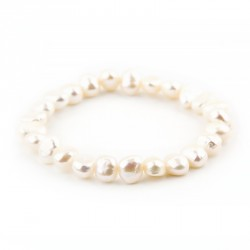 Aurore baroque - Bracelet de perles deau douce