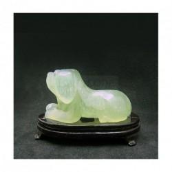 Chien en jade