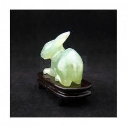 Lapin en jade