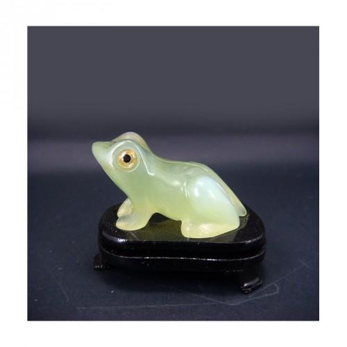 Grenouille en jade (petit modèle)