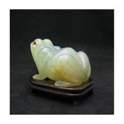 Grenouille en jade (grand modèle)
