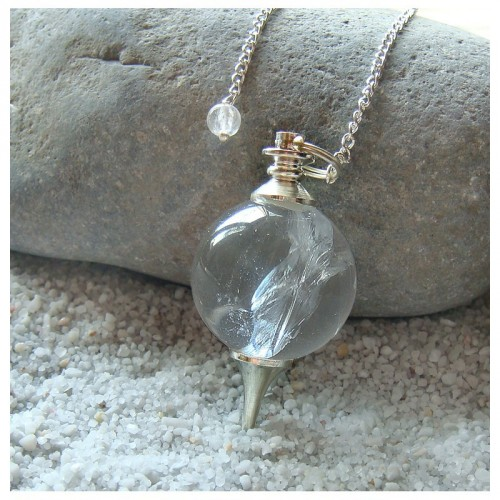 Pendule sephoroton en quartz