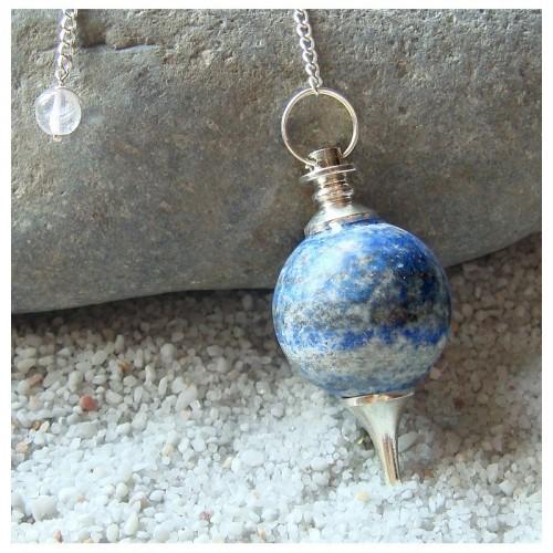 Pendule sephoroton en lapis lazuli