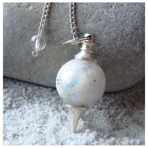 Pendule sephoroton en pierre de lune