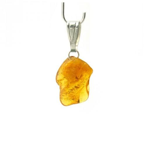 Pendentif ambre (modèle moyen)