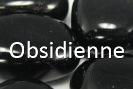 Toutes les variétés d'obsidiennes
